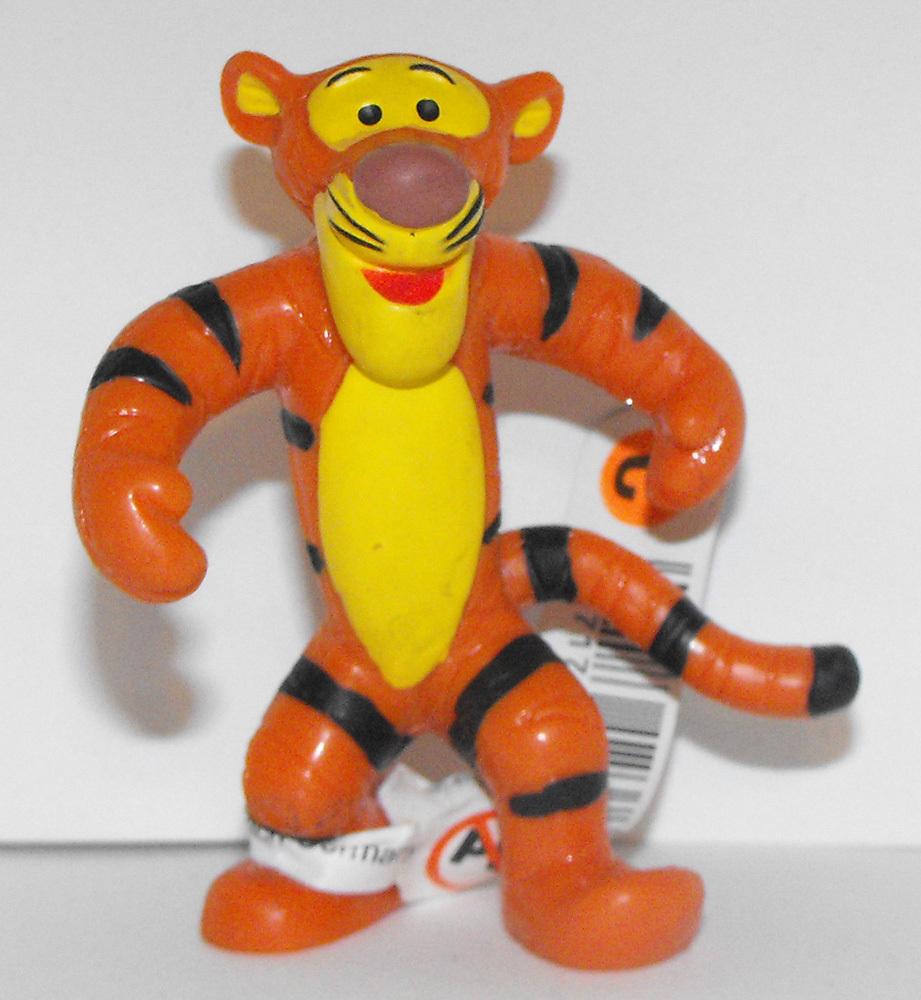 Tigger Standing - Winnie the Pooh Plastic Figurine Disney Miniature Figure