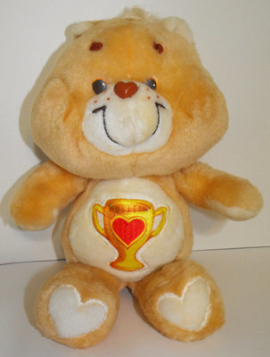 Champ Bear 13 inch Vintage Plush Care Bears Stuffed Animal