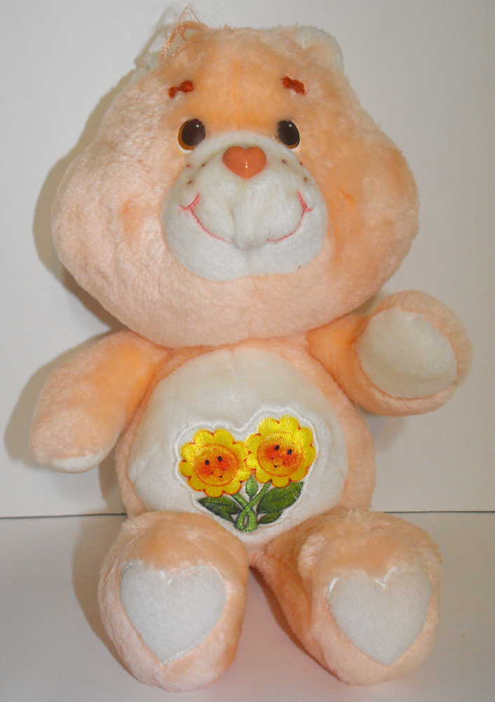 Friend Bear 13 inch Vintage Plush Care Bears Stuffed Animal