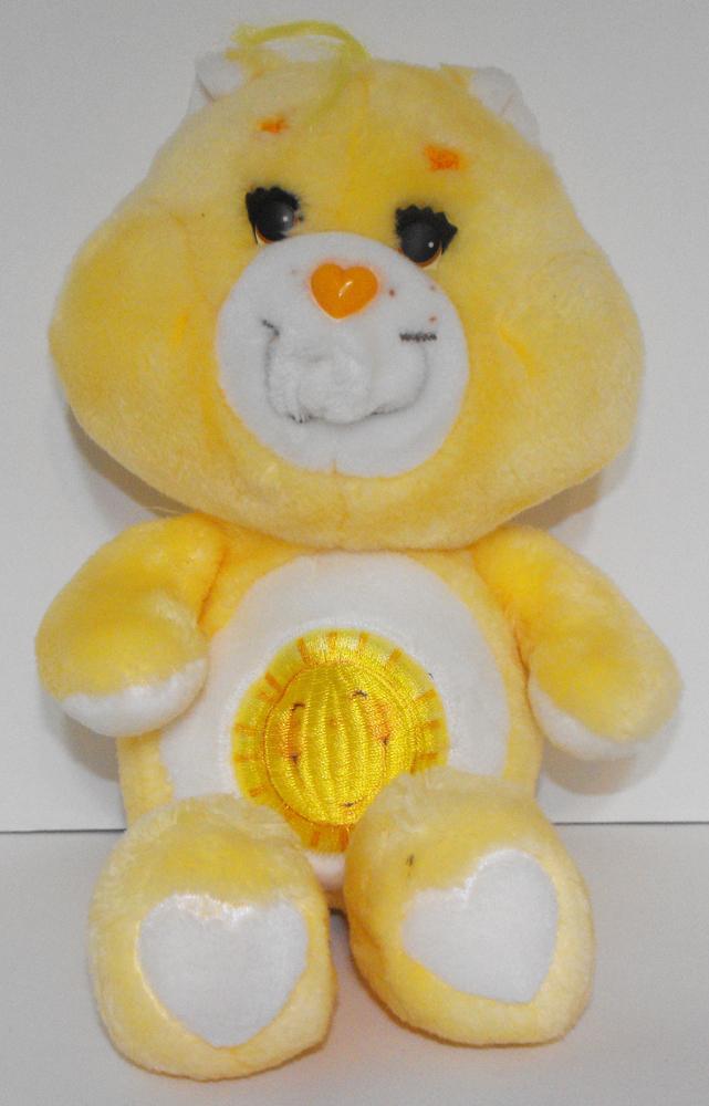 Funshine Bear 13 inch Vintage Plush Care Bears Stuffed Animal
