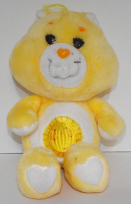 Funshine Bear 13 inch Vintage Plush Care Bears Stuffed Animal
