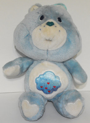 Grumpy Bear 13 inch Vintage Plush Care Bears Stuffed Animal