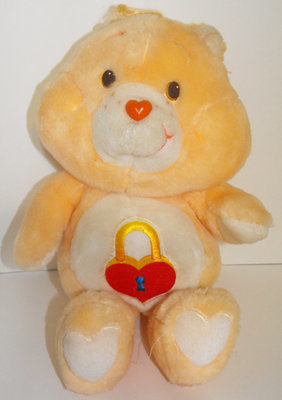 Secret Bear 13 inch Vintage Talking Plush Care Bears Stuffed Animal