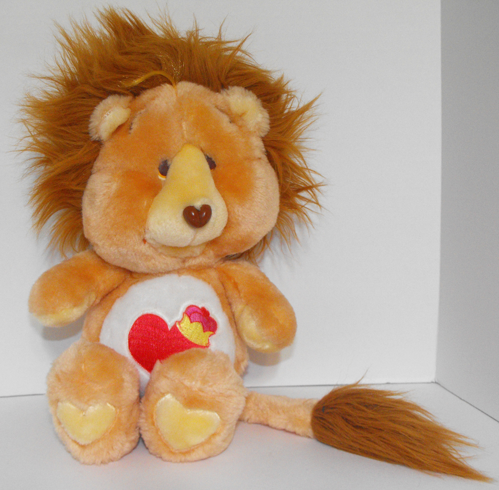Braveheart Lion 13 inch Vintage Plush Stuffed Animal