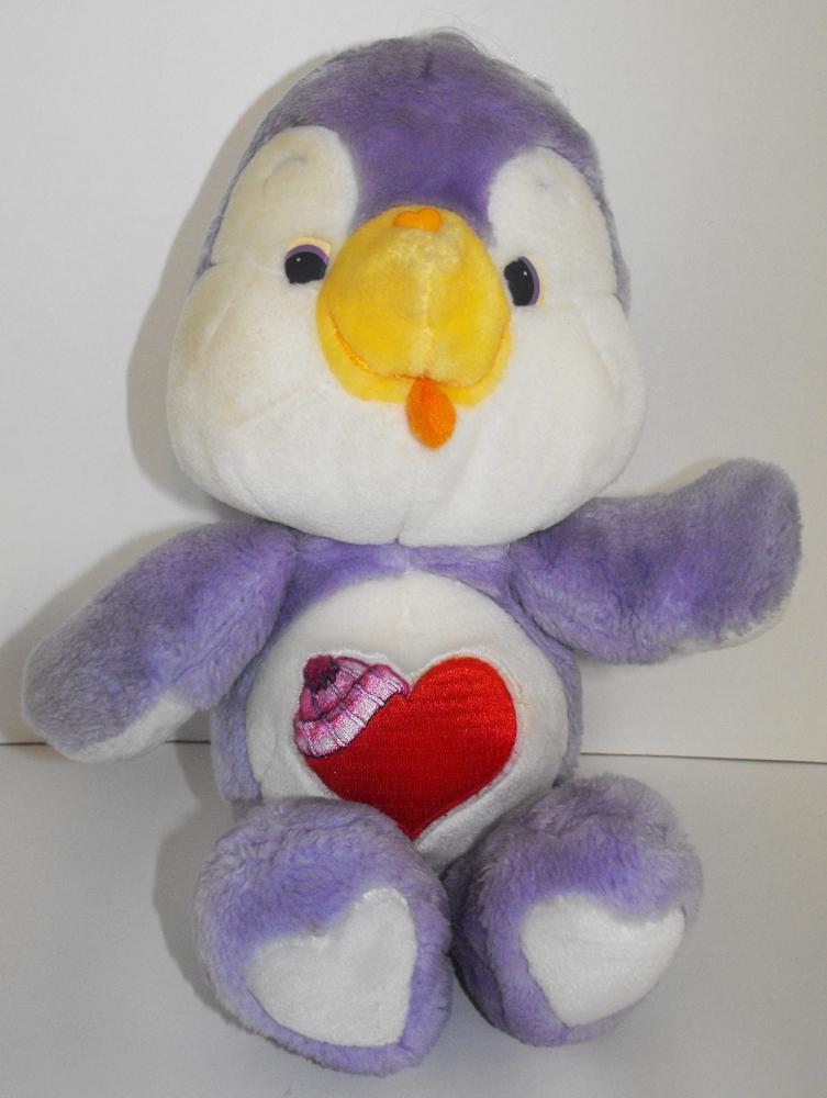Cozy Heart Penguin 13 inch Vintage Plush Stuffed Animal