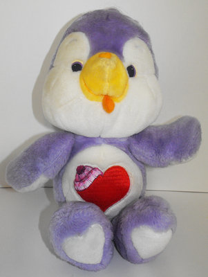 Cozy Heart Penguin 13 inch Vintage Plush Stuffed Animal