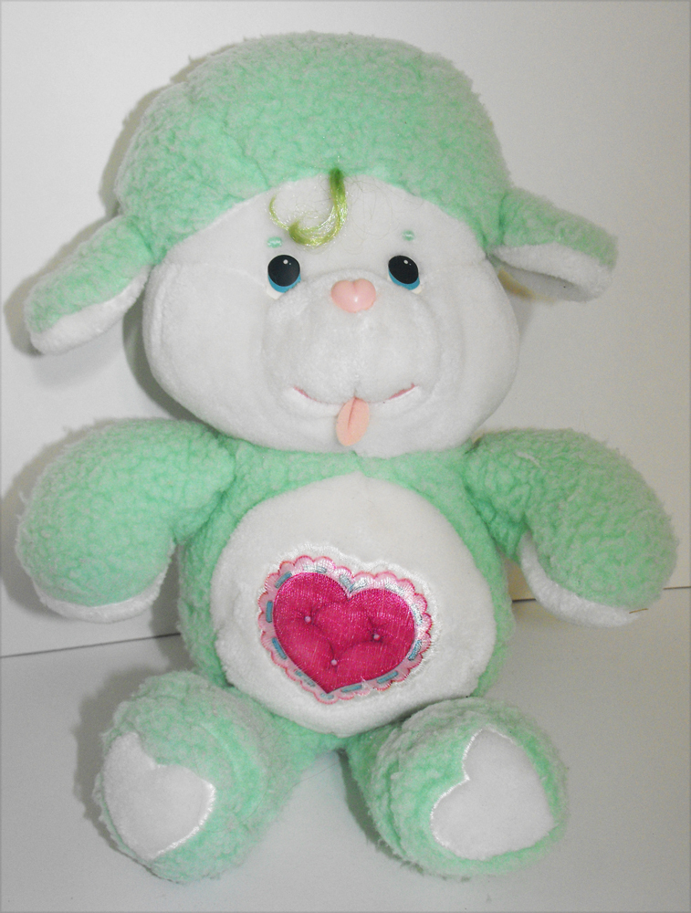 Gentle Heart Lamb 13 inch Vintage Plush Stuffed Animal