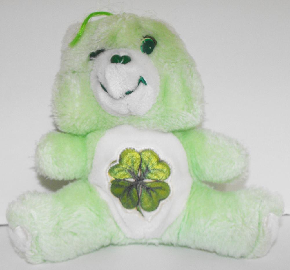 Good Luck Bear 6 inch Vintage Plush