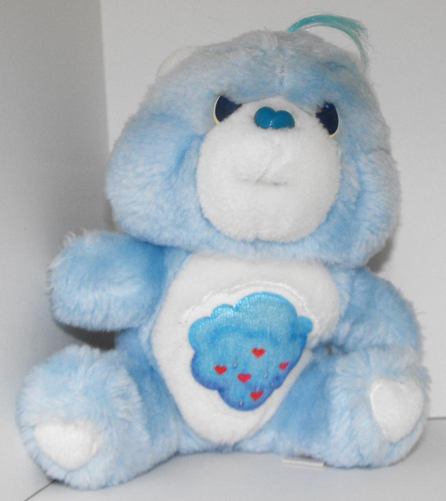 Grumpy Bear 6 inch Vintage Plush