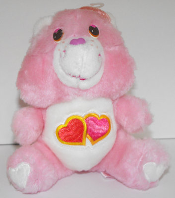 Love-A-Lot Bear 6 inch Vintage Plush