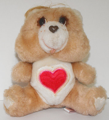 Tenderheart Bear 6 inch Vintage Plush