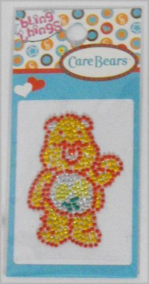 Friend Care Bear Bling Thing Sticker