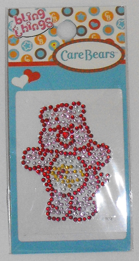 Love-A-Lot Care Bear Bling Thing Sticker