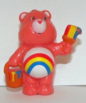 Cheer Painting Bucket Vintage Miniature