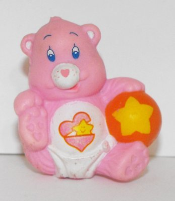 Hugs Pink Baby with Ball Vintage Miniature