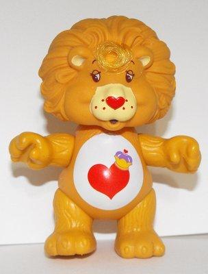 Braveheart Lion Vintage Poseable Care Bear