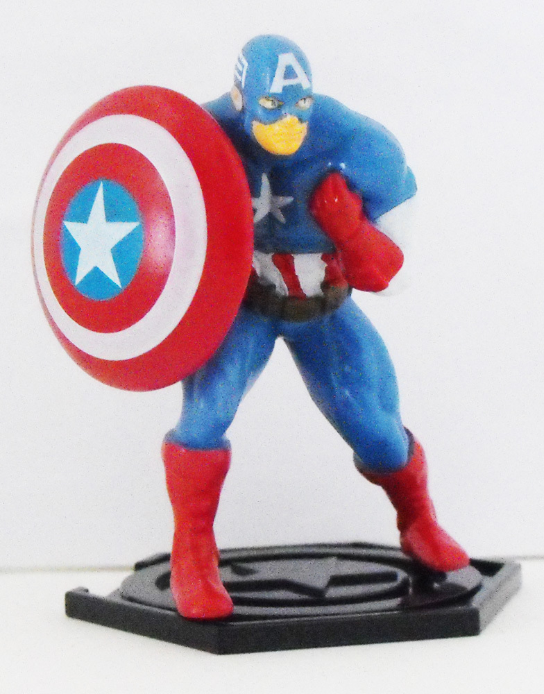 Captain America - Part of 6 Comansi Avenger Figurines that fit together