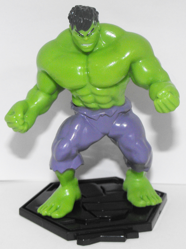 Hulk - Part of 6 Comansi Avenger Figurines that fit together