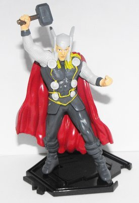 Thor - Part of 6 Comansi Avenger Figurines that fit together