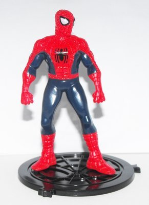 Spiderman Standing - Part of 6 Comansi Spiderman Figurines that fit together