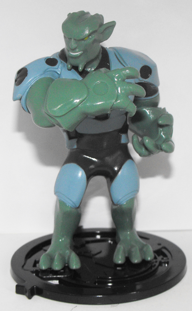 Green Goblin - Part of 6 Comansi Spiderman Figurines that fit together
