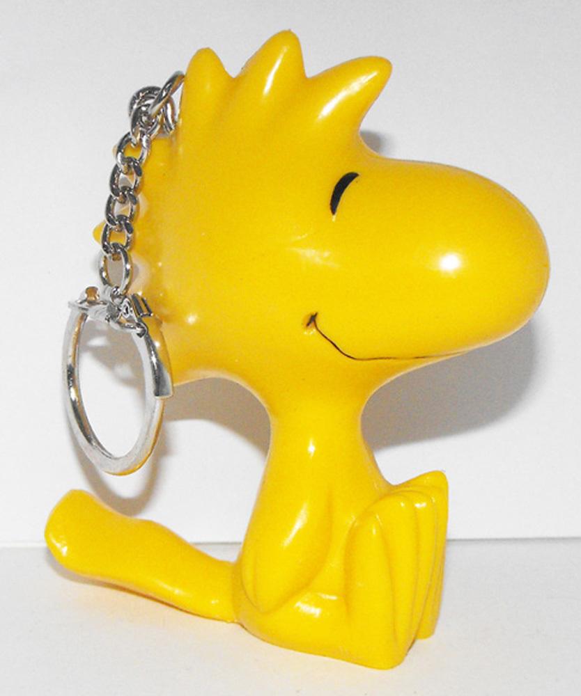 Woodstock 3 inch Figurine Keychain Peanuts Miniature Figure Key Chain Snoopy