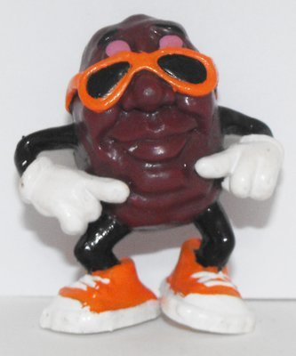 California Raisins Small Figure Sunglasses 2 inch Plastic Figurine