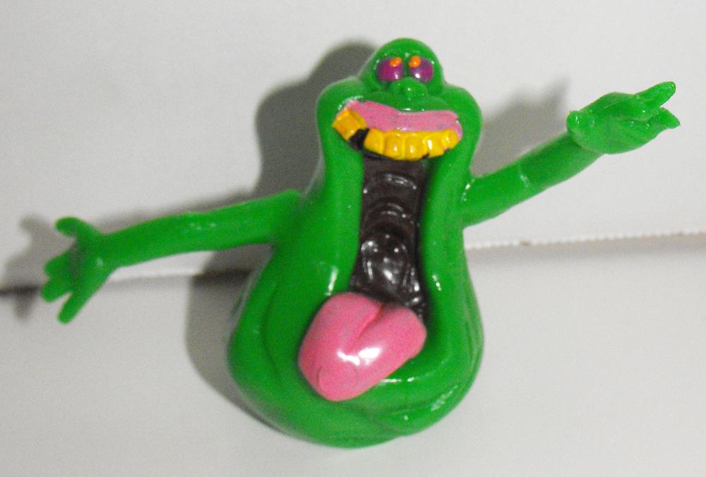 Ghost Busters Slimer Vintage 2 inch Figurine