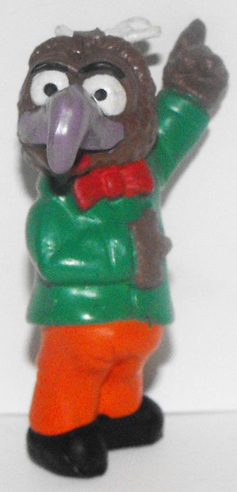 Gonzo Green Shirt 2 inch Muppets Figurine Muppets Plastic Figure