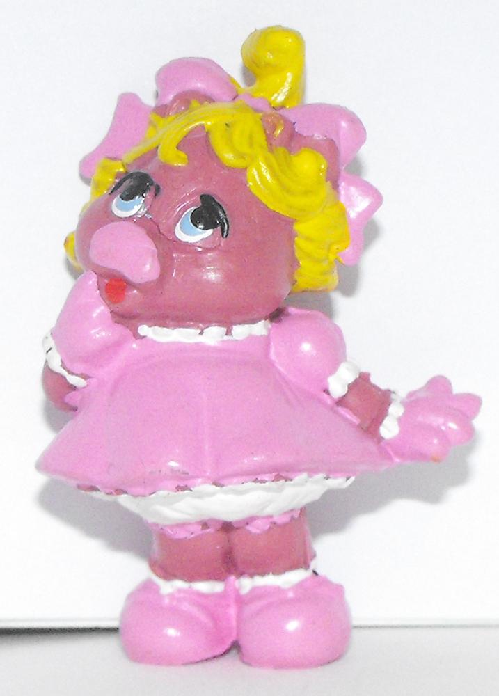 Baby Miss Piggy 2 inch Figure Muppets Plastic Figurine