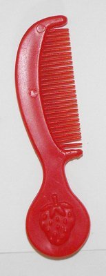 Red Comb for Vintage Strawberry Shortcake Doll