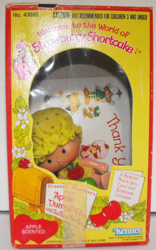Apple Dumplin' 1st Edition Doll in Box Vintage Strawberry Shortcake