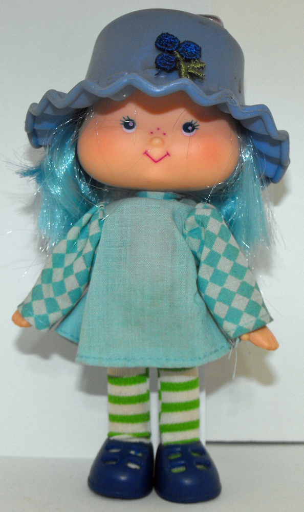 Blueberry Muffin First Edition Vintage Strawberry Shortcake Doll