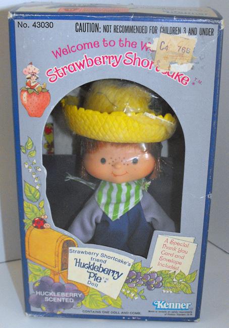Huckleberry Pie First Edition Doll in Box Vintage Strawberry Shortcake