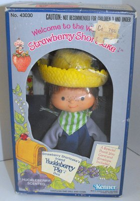 Huckleberry Pie First Edition Doll in Box Vintage Strawberry Shortcake