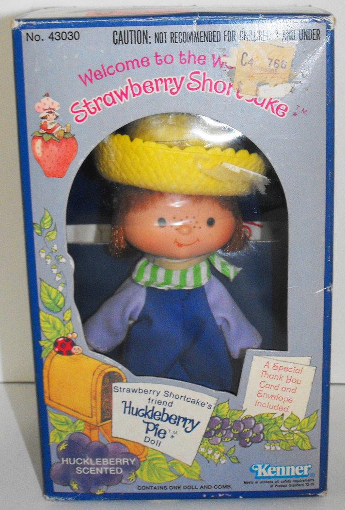 Huckleberry Pie 1st Edition Doll in Box Vintage Strawberry Shortcake