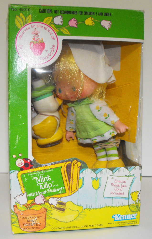 Mint Tulip Second Edition Doll in Box Vintage Strawberry Shortcake