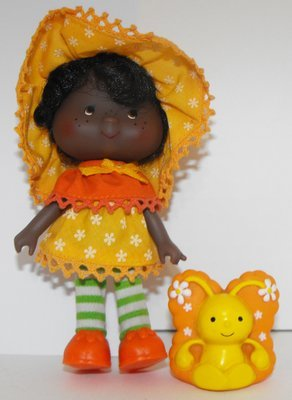 Orange Blossom Second Edition Doll and Pet Vintage Strawberry Shortcake