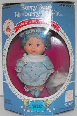 Blueberry Muffin Vintage Berry Baby in Box Strawberry Shortcake Doll