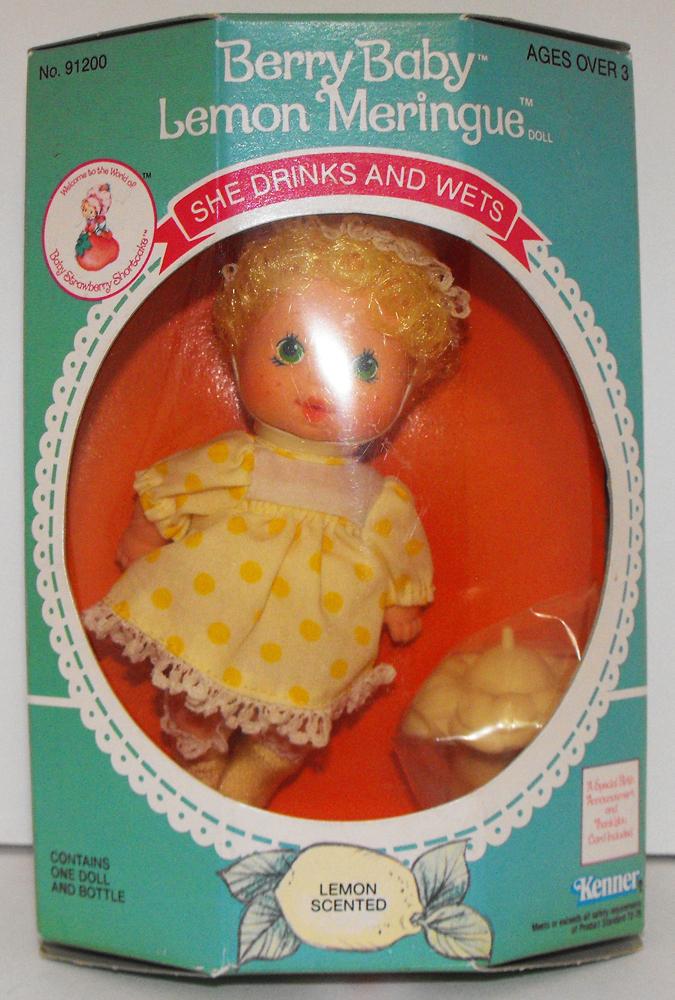Lemon Meringue Vintage Berry Baby in Box Strawberry Shortcake Doll