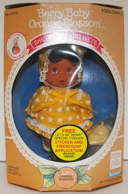 Orange Blossom Vintage Berry Baby in Box Strawberry Shortcake Doll