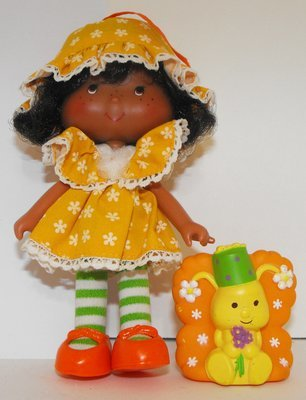 Party Pleaser Orange Blossom Doll and Pet Vintage Strawberry Shortcake