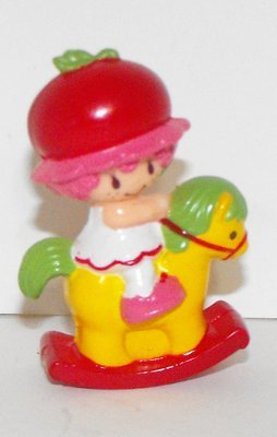 Cherry Cuddler on Rocking Horse Miniature