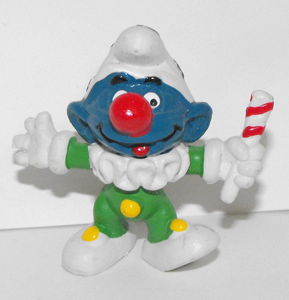 Jester Smurf 2 inch Vintage Figurine 20090