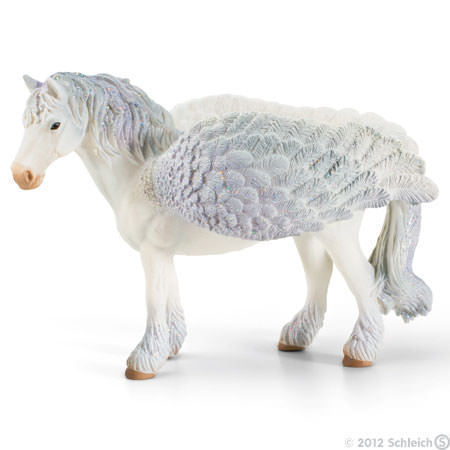 Pegasus Standing with Glitter Wings Figure Bayala Schleich Fairy Horse Figure