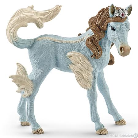 Eyela's King Foal Bayala Plastic Figurine Bayala Schleich Fairy Horse Figure
