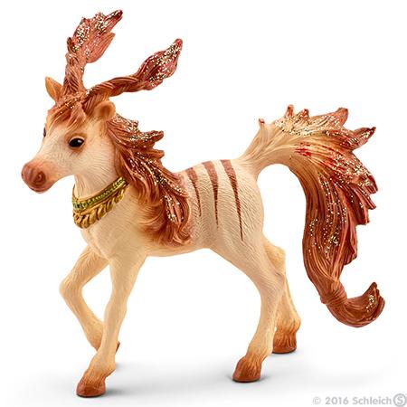Marween's Striped Foal Bayala Figurine Schleich Fairy Horse Figure