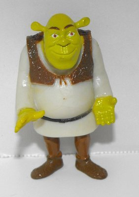 Shrek Small 2 inch Plastic Figurine