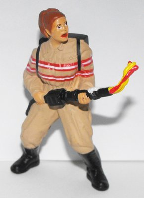 Ghost Busters Abby Yates Plastic Comansi Figurine