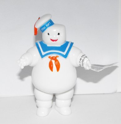 Ghost Busters Marshmallow Man Plastic Comansi Figurine